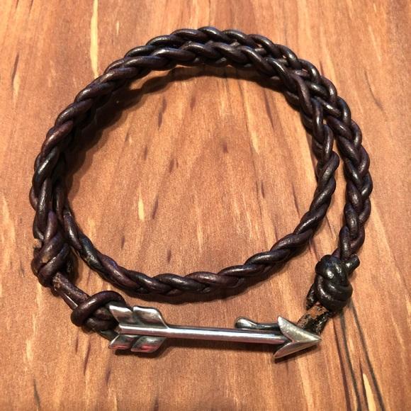 James Avery Jewelry - JAMES AVERY | Soaring Arrow Leather Bracelet